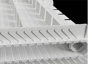 ベルト式連続液体凍結装置入口